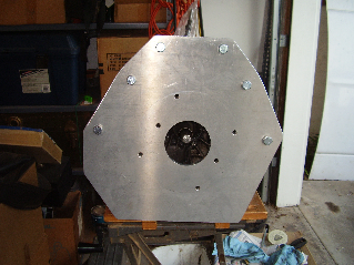 EV Adapter Plate Front