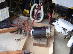 EV conversion motor out of the box